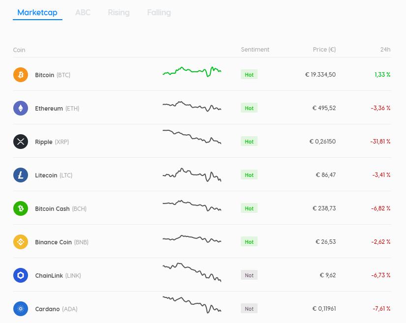 CoinMerce compra vende criptomonedas fácilmente