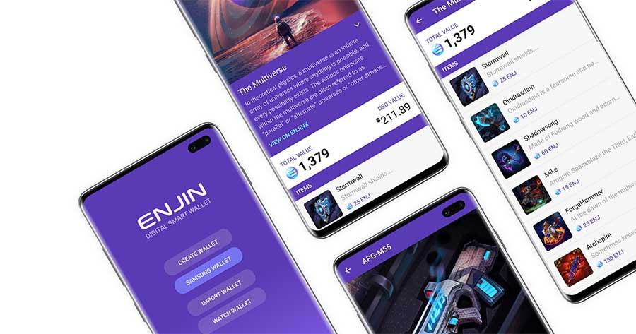 Enjin Coin plataforma descentralizada para gaming